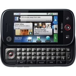Motorola Cliq MB200 Cell Phone - T-Mobile (Black)