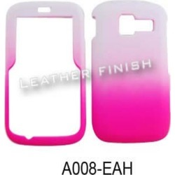 Unlimited Cellular Rubber Coated Hard Case for Kyocera 2300V / Torino (Leather Finish Two Tone, White and Hot Pink) found on Bargain Bro from Unlimited Cellular for USD $4.55