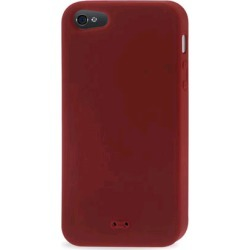 Reiko - Silicone Case for Apple iPhone 5 - Red found on Bargain Bro India from Unlimited Cellular for $6.09