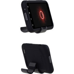 Incipio Double Cover Silicrylic Case with Stand for HTC DROID Incredible 2 ADR6350 (Black/Black) (Bulk Packaging)