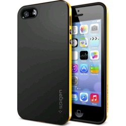 Spigen SGP Neo Hybrid Case with 3 Jelly Bean Home Buttons Included for Apple iPhone 5/5S (Reventon Yellow) found on Bargain Bro India from Unlimited Cellular for $21.59