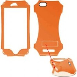 Degree Wireless - Kicker Series Snap-On Protector Case for Apple iPhone 6 - Pearl Dark Orange found on Bargain Bro from Unlimited Cellular for USD $4.55