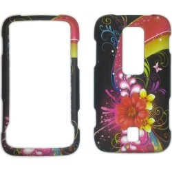 Snap-On Case for for Huawei Ascend (Artistic Flowers)