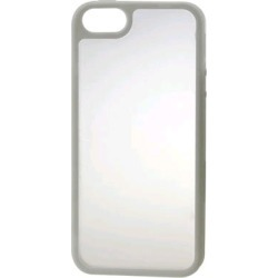 Reiko - PC/TPU Protector Cover for Apple iPhone 5 - White found on Bargain Bro India from Unlimited Cellular for $6.19