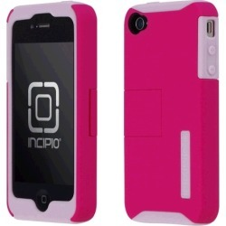 Incipio Silicrylic Hard Shell Case and Gel for Apple iPhone 4/4S - Pink & Gray