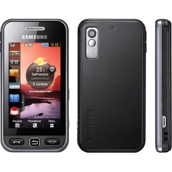 Black - Samsung Star GT-S5230 Cell Phone, Touchscreen, Bluetooth, 3.2 MP Camera, Quad-Band, GSM World Phone - Unlocked
