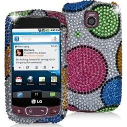 Decoro Brand Premium Full Diamond Protector Case for LG P505 / Thrive / Phoenix (Hubble  Bubble) found on Bargain Bro Philippines from Unlimited Cellular for $8.99