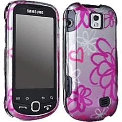 Samsung SPH-M910 Intercept Snap On Case, Flowers & Hearts (Pink/Purple) - 04287 found on Bargain Bro India from Unlimited Cellular for $5.99