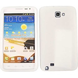 Unlimited Cellular Deluxe Silicone Skin Case for Samsung Galaxy Note i717 (White) found on Bargain Bro from Unlimited Cellular for USD $4.55