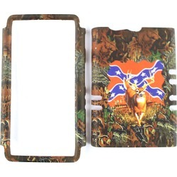 Unlimited Cellular Rocker Snap On Cover for Motorola XT913/Razr Maxx (Hunter Series Deer on Rebel Flag) found on Bargain Bro India from Unlimited Cellular for $5.99