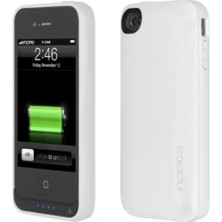Incipio IPH-703 offGRID Pro Back-up Battery Case for iPhone 4S / iPhone 4 - White