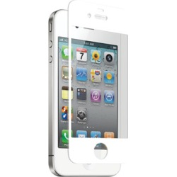 zNitro Nitro Glass Tempered Glass Screen Protector for Apple iPhone 4/ 4S (White)