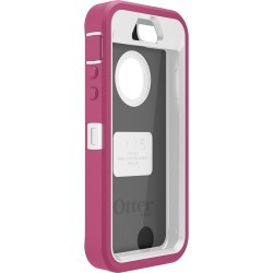 OtterBox Defender Series Hybrid Case,Holster for iPhone 5,5S-Retail Packaging-Papaya- (77-34589)