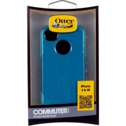 Otterbox Commuter Series Hybrid Case for Apple iPhone 4/4S - Deep Teal/Light Teal