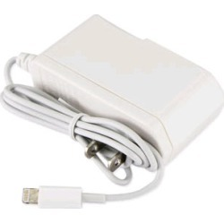 Reiko - Travel Charger for Apple iPhone 5 - White found on Bargain Bro India from Unlimited Cellular for $6.99