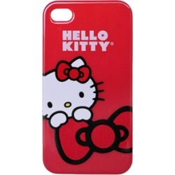 Hello Kitty Protector Case, Red Bow for iPhone4/4S