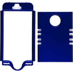 Unlimited Cellular Rocker Snap-On Cover for Apple iPhone 5S (Honey Blue)