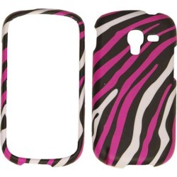 Snap-On Protector Case for Samsung T599 / Galaxy Exhibit (White Zebra on Pink) found on Bargain Bro Philippines from Unlimited Cellular for $5.99