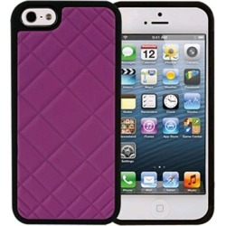 Xentris Wireless Hard Shell for Apple iPhone 5/5S - Pink Quilt found on Bargain Bro India from Unlimited Cellular for $24.99