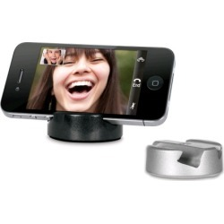iSound Twin Pack Stand for iPhone/iPod (Silver/Black) found on Bargain Bro India from Unlimited Cellular for $6.19