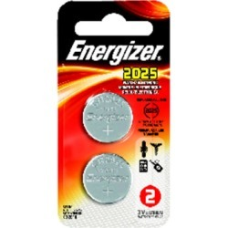 Energizer Lithium Coin Watch/Electronic Battery - 2Pack