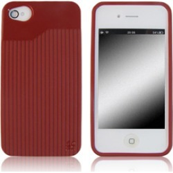 Wireless Inc. Mobile Rubber T-Matrix Skin for Apple iPhone 4G/4S - Red found on Bargain Bro India from Unlimited Cellular for $11.09