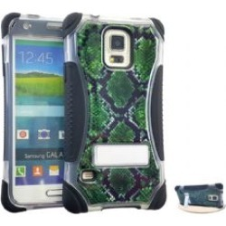 KickerCase, Crystal GR SnakeSkin Snap&BK Skin wSt found on Bargain Bro India from Unlimited Cellular for $6.99
