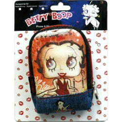 Universal Digital Camera Pouch, Betty Boop Smiling
