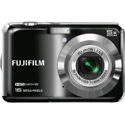 Fujifilm FinePix AX650 16 Megapixel Compact Camera (Black) found on Bargain Bro Philippines from Unlimited Cellular for $120.29