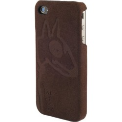 Bluetrek LostDog Slim Microfiber Suede Case for iPhone 4 (Brown)