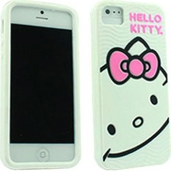 Hello Kitty Protector Case, Smiley Face for iP5