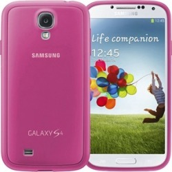 Samsung Protective Cover Plus Case for Samsung Galaxy S4 (Pink)