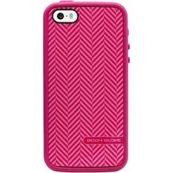 Body Glove - MySuit Case for Apple iPhone 5/5S - Raspberry/Herringbone