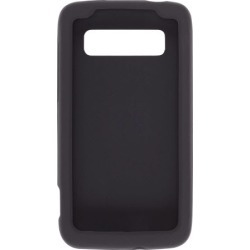 Wireless Solutions Silicone Gel Case for HTC Trophy - Black