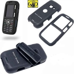 Body Glove Shield Protector Case with Belt Clip for LG Rumor LX260 Scoop (Black)