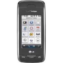 Titanium Gray - LG Voyager VX10000 Cell Phone, QWERTY, Touch Screen, Bluetooth, TV, for Verizon
