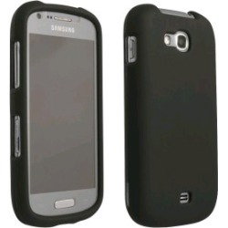Blue Rubberized Protective Shield compatible with Samsung Galaxy Axiom found on Bargain Bro India from Unlimited Cellular for $5.99