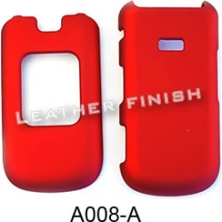 Unlimited Cellular Snap-On Cover Case for Samsung Factor M260 (Honey Dark Red, Leather Finish)