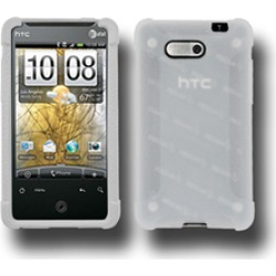 Wireless Mobile Rubberized Skin for HTC Aria - Clear
