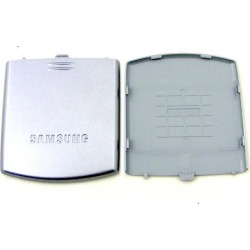 Samsung Battery Cover Case for Samsung U740 (Silver) found on Bargain Bro India from Unlimited Cellular for $5.99