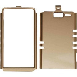 Unlimited Cellular Rocker Snap-On Cover for Motorola XT907/Droid Razr M (Honey Gold) found on Bargain Bro India from Unlimited Cellular for $5.99