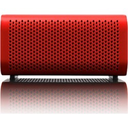Braven 440 Portable Bluetooth Speaker Mobile Device Charger Speakerphone (Red/Black End Caps)