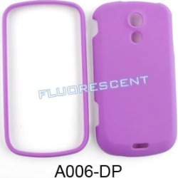 Unlimited Cellular Snap-On Cover Case for Samsung Galaxy Epic 4G Sprint (Fluorescent Solid Dark Purple)