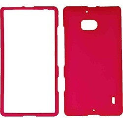 Cell Armor Snap On Cover For Nokia Lumia Icon/929 (Fluorescent Dark Hot Pink) - NK929-SNAP-A006-FE