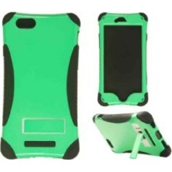 Degree Wireless - Kicker Series Protector Case with Stand for Apple iPhone 6 - Honey Light Green  with Black