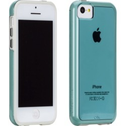 Case-Mate Naked Tough Case for Apple iPhone 5c (Aqua/White)