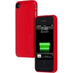 Incipio offGRID Battery Case for Apple iPhone 4S / 4 (Red)