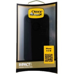 OtterBox Impact Series Case for Apple iPhone 4/4S (Black)