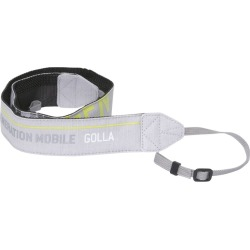 Golla Snap Camera Bag Neck Strap (Light Gray)