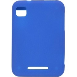 New Cobalt Silicone Gel Case for Motorola MB502 Charm